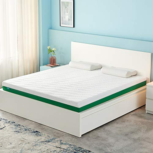 "Narrow Twin Mattress, Mintgreen 6 Inch Gel Memory Foam Mattress in a Box, Breathable Bed Comfortable Mattress withSleep Supportive & Pressure Relief Narrow Twin Mattress Size 30"" X 75"" X 6"""