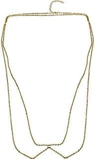 FemNmas Vintage Waist Chain for Women Dancer Bikini Body Chain Jewelry Boho Indian Belly Chains for Women & Girls