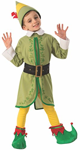 Rubie's Child's Elf Buddy Costume, Large