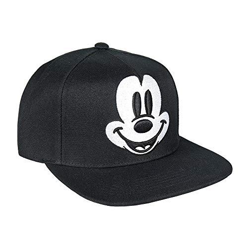 Artesania Cerda Gorra Visera Plana Mickey Black, Negro (Negro Negro), M (Tamaño del fabricante:59) para Niños