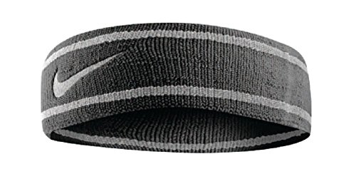 Nike Dri-Fit hoofdband zwart/grijs