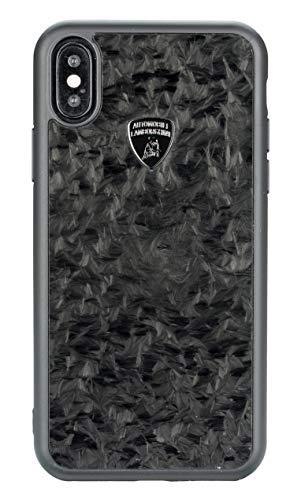 Lamborghini Huracan D14 Carbon, Schutzhülle Back Case Schwarz, geeignet für Handy iPhone XS Max