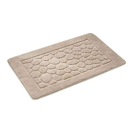 Best Price Door mat Floor Bathroom Absorbent Anti-Slip mat Home Floor mat (Color : Camel, Size : 609...