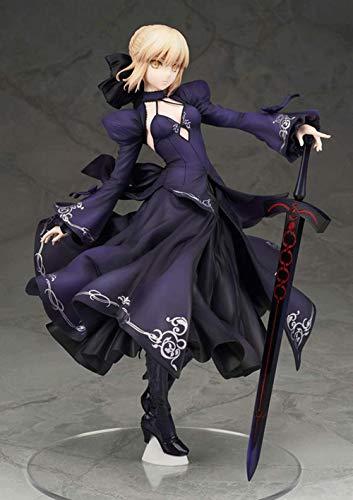 TELEPHNY Fate/Stay Night,Black Saber Ritter Arturia Pendragon (Alter) King Arthur Action-Figur Animationsfigur Modell Anime-Charakter Statue Dekoration Kollektion