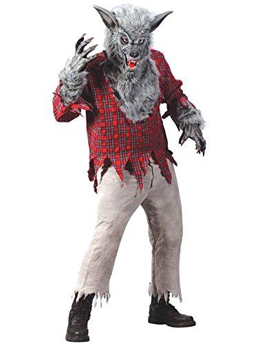 Fun World FW5813-L Grand costume de loup-garou d'enfants