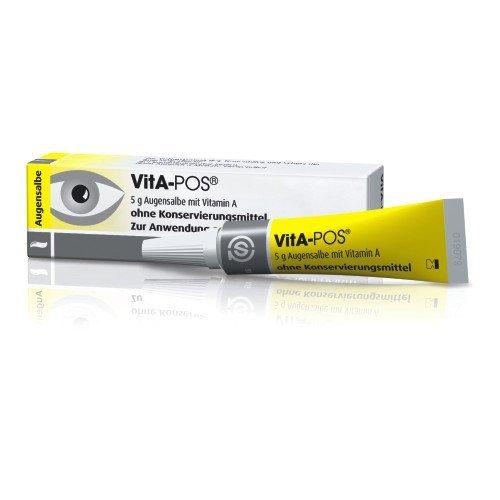 VitA-POS Augensalbe ohne Konservierungsstoffe, 5 g