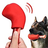 PEGIETOWN Juguetes duros para masticar perros, hueso de perro, goma...