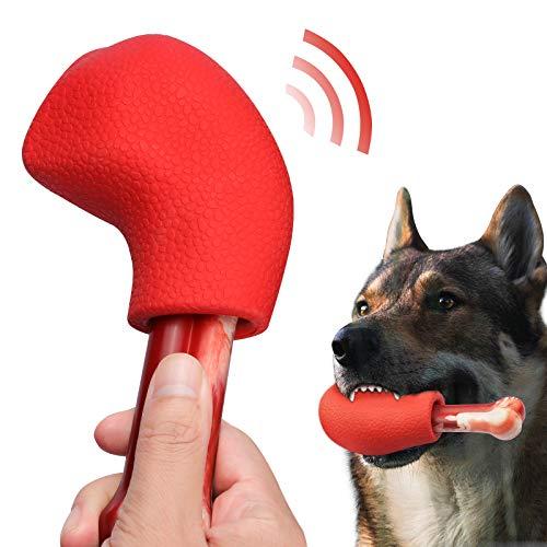 PEGIETOWN Juguetes duros para masticar perros, hueso de perro, goma natural, patas de aves de corral, adecuados para dientes de perro medianos / grandes / cachorros / grandes (sabor a carne)