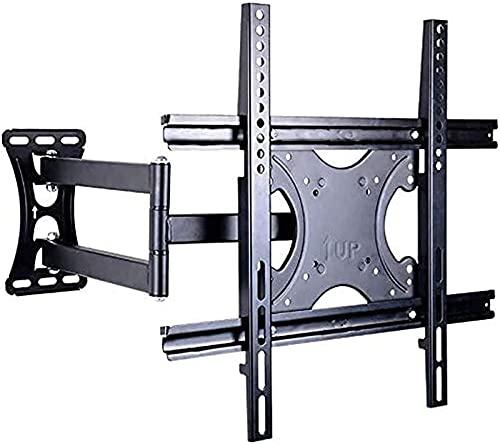 TV Bracket Mount Universal TV Rack Telescopic Rotating Wall Mount Bracket Wall Shelf Millet 32 40 43 Inch (Color : Black)