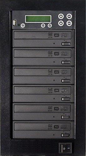 MediaStor 1-5, 1 to 5 Target DVD Duplicator, Backup USB Flash Thumb Drive to DVD/CD Disc Too.