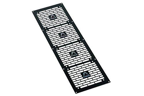 Phobya Blende Quad (480) - Bricky - Black Wasserkühlung Radiatoren