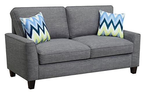"Serta Deep Seating Astoria 73"" Sofa in Light Gray"