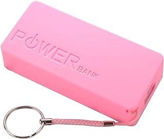 SHURROW USB mobil powerbank laddare batteri fodral gör-det-själv-box för 2 x 18650 litiumbatteri bärbar färgglad låda kraf...
