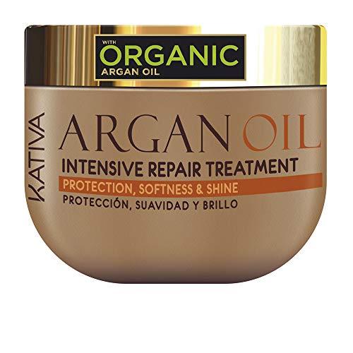 Kativa Argan Oil Mascarilla Cabello, Mostaza, 500 Gr - 530 g