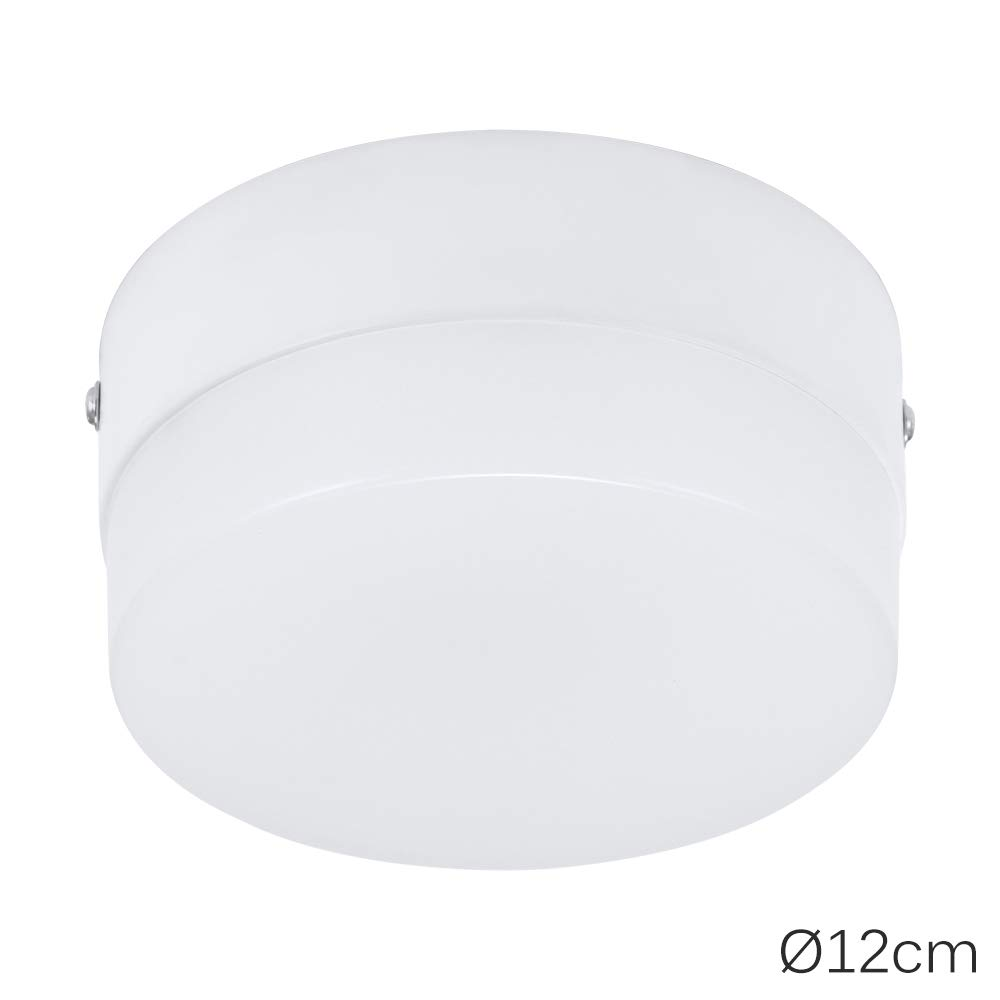 Lámpara de techo LED, sensor de movimiento, luz nocturna para interiores y exteriores, para pasillo, escalera, garaje, porche, cuarto de baño, 15W cool white: Amazon.es: Iluminación