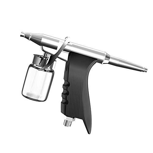 Cxjff Airbrush-Pistole, 0,2 mm, professionelle Sauerstoff-Sprühpistole, Spritzpistole, Kunst-Tattoo-Dekorationswerkzeuge