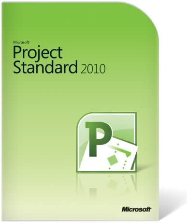 Microsoft Project Standard 2010 product image