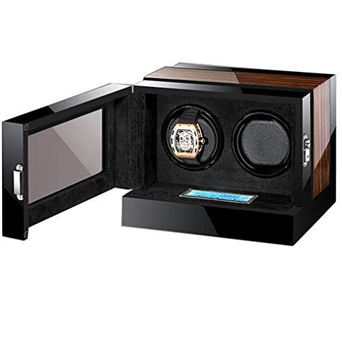 WXDP Enrollador de Reloj automático,Giratorio con Almacenamiento de Cuero, Tiene Capacidad para...