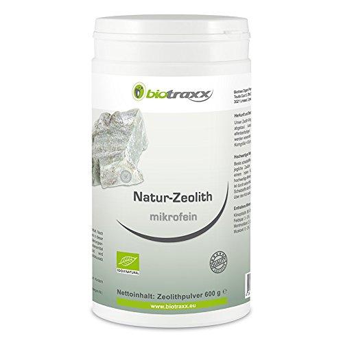 Zeolita Biotraxx - calidad microfina 600g