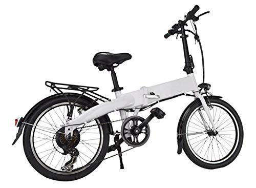 Bicicleta eléctrica plegable Urban Plus, 36 V, bicicleta plegable, bicicleta eléctrica para hombre y mujer Urban E-Bike Pedelec, motor trasero de 250 W, batería de ion de litio, cambio de marchas Shimano, vídeo del producto