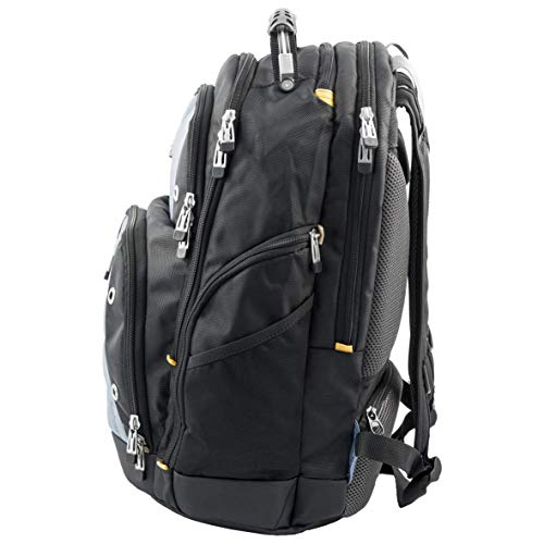 Photo of Targus Drifter Backpack Designed for Travel and Commute Outdoor Use fits up to 15.6-Inch Laptop, Black/Grey (TSB238EU)