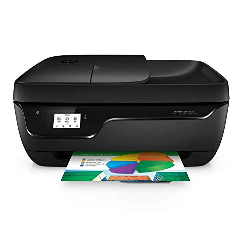 HP Officejet 3831 Multifunctionele Printer, Print, Kopieerapparaat, Scanner, Fax, met Wi-Fi, Zwart