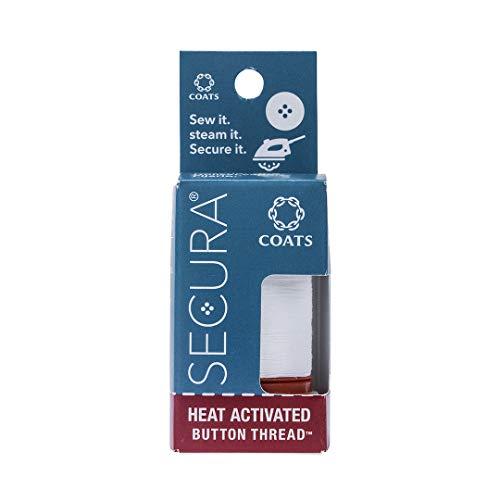 Coats & Clark Secura Heat Activated Button Thread - White