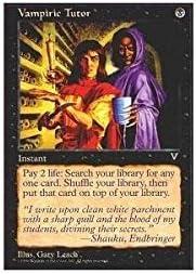 Magic: Sales the Gathering shipfree - Visions Vampiric Tutor