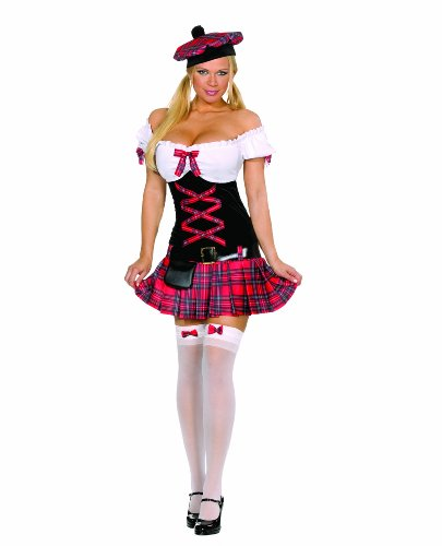Cesar - 5083L - Costume - Dreamgirl - Ecossaise - Taille L