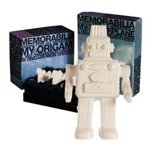 SELETTI – My Robot Souvenirs, Porcelaine, Blanc, 17,4 x 12,4 x 30 cm