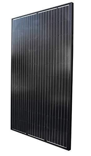 Solarpanel Solarmodul 270 W 24 V SCHWARZ BLACK Edition 24V OFF ON GRID