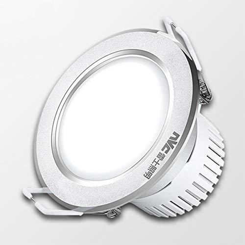 ZRSZ 96MM Led Einbaustrahler Flach,5W Dimmbare Decken-Lampe Einbauleuchten Slim Deckenstrahler [Energieklasse A++]