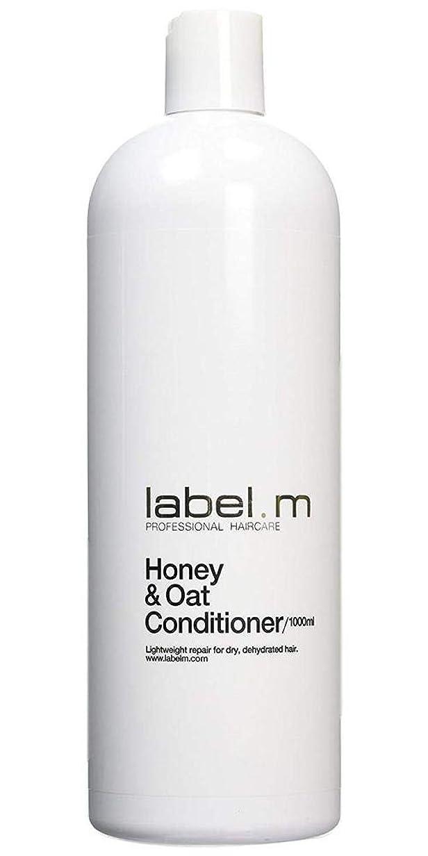解明暫定の話すLabel MHoney & Oat Conditioner (For Dry, Dehydrated Hair) 1000ml/33.8oz【海外直送品】