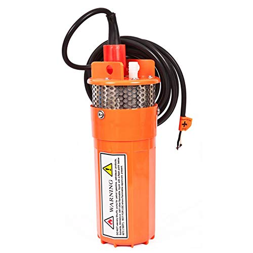 ECO-WORTHY 24V Submersible Deep Well Water DC Pump Farm & Ranch Submersible Deep Well Pump