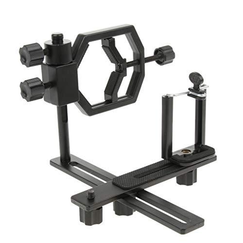 B Blesiya Adaptador universal de cámara digital para smartphone, adaptador de montaje para microscopio, telescopio y teléfonos móviles