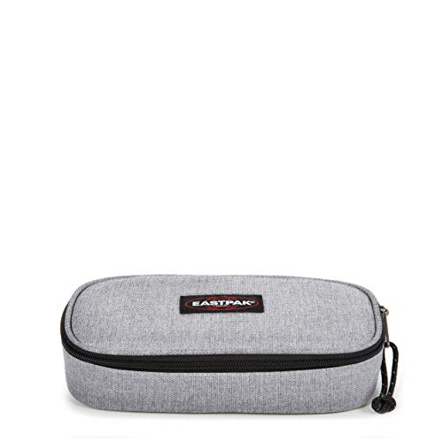 Eastpak Oval Single Astuccio, 22 cm, Grigio (Sunday Grey)