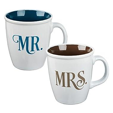 Mug Set-Mr. And Mrs. (Set Of 2) (Oct)