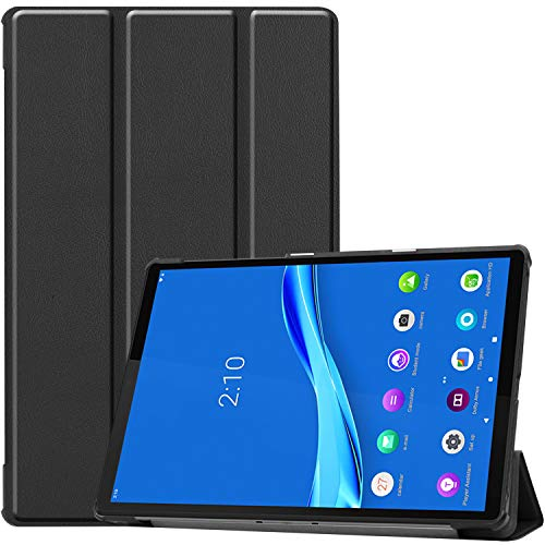 ProCase for Lenovo Tab M10 Plus Case (TB-X606F), Slim Smart Cover Folio Case for 10.3 Inch Lenovo Tab M10 Plus Android Tablet 2020 Released –Black