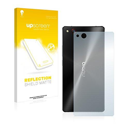 upscreen Entspiegelungs-Schutzfolie kompatibel mit ZTE Nubia Z9 Max (Rückseite) – Anti-Reflex Bildschirmschutz-Folie Matt