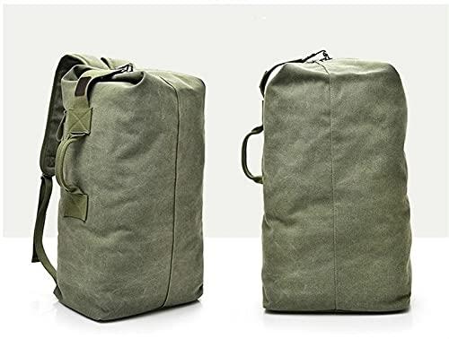 ACEACE Zaino su Tela Borsa da Uomo Outdoor Sports Borsellino Borsa da Viaggio Zaino Escursioni Zaini da Pesca Borsa da Pesca Campong Bags Zaino (Color : Army Green, Size : 45 L)