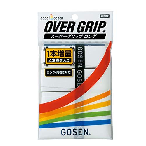 GOSEN(ゴーセン) スーパーグリップロング AC26SP (10)ホワイト