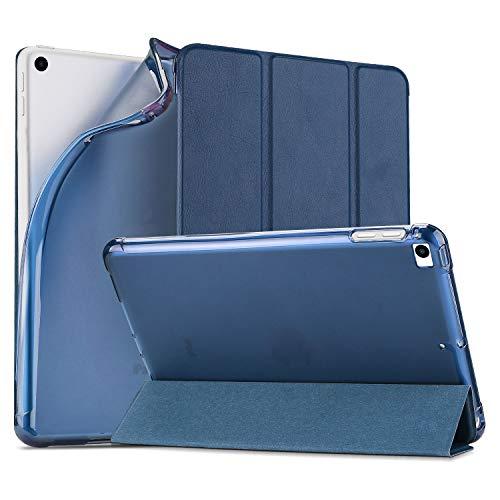 ProCase iPad Mini 5 2019 Weiche Schutzhülle, Ultra Dünn Leicht Schutz Klapphülle Case Cover mit Flexible Soft TPU Rückseitliche Hülle für 7.9 Zoll Apple Mini 5th Gen 2019 -Navy
