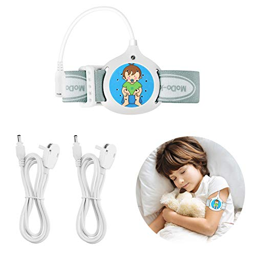 Bed Wetting Alarm for Kids Boys Girls - Detachable Enuresis Alarm for Deep Sleepers Potty Training with Loud Sound Strong Vibration