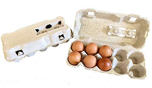 50 contenitori da 10 Uova in cartone