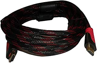 HDMI Cable 5 Meter - Red and Black