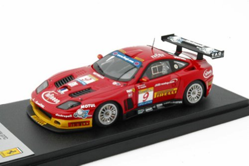 Ferrari BBR 1/43 575 GTC Red #9 FIA GT Estoril 2003 Limited 200 Pcs. BG250