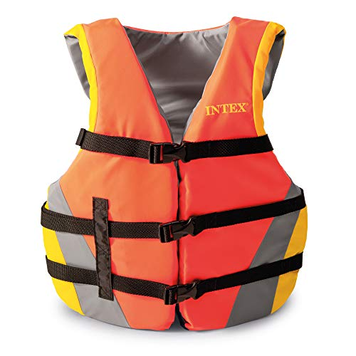 Intex Youth Life Vest, USCG Approved, for Youth Weighing 50-90lbs