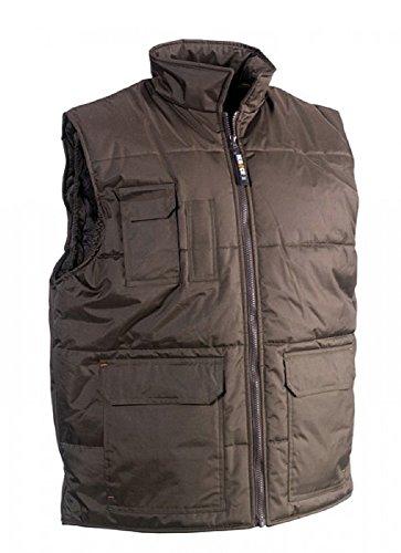 Herock Workwear – Herok® Weste Neptune Gr. XXL, braun