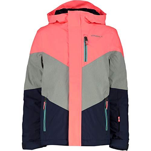 O'Neill Mädchen Kinder Snowboard Jacke Coral Jacket Girls, neon Tangerine pink, 170