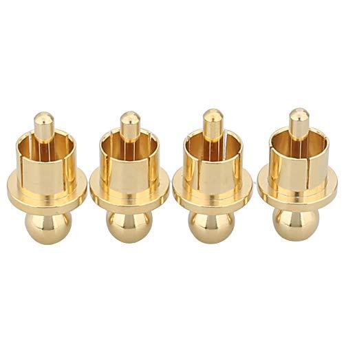 Cinch Caps High-End Abschlusskappe RCA Kabeldose Verschlusskappen für Cinch Anschlüss(4 Pcs)